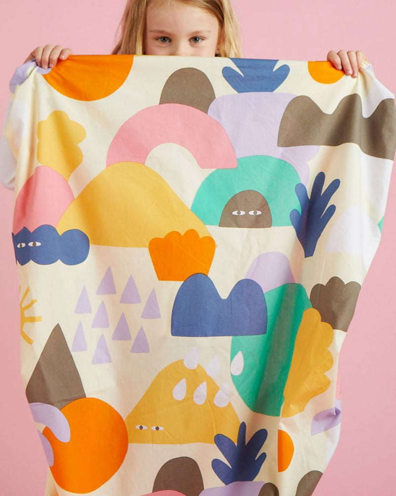 Wonderland Fitted Cot Sheet