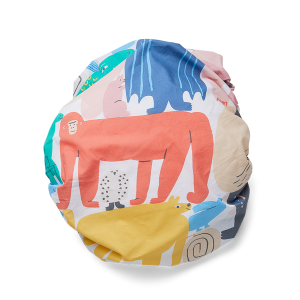 Animal Parade Bassinet Fitted Sheet