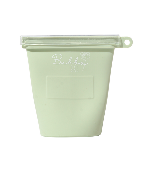 Bubba Bag- Green Reusable Milk Storage Bag 2 pack