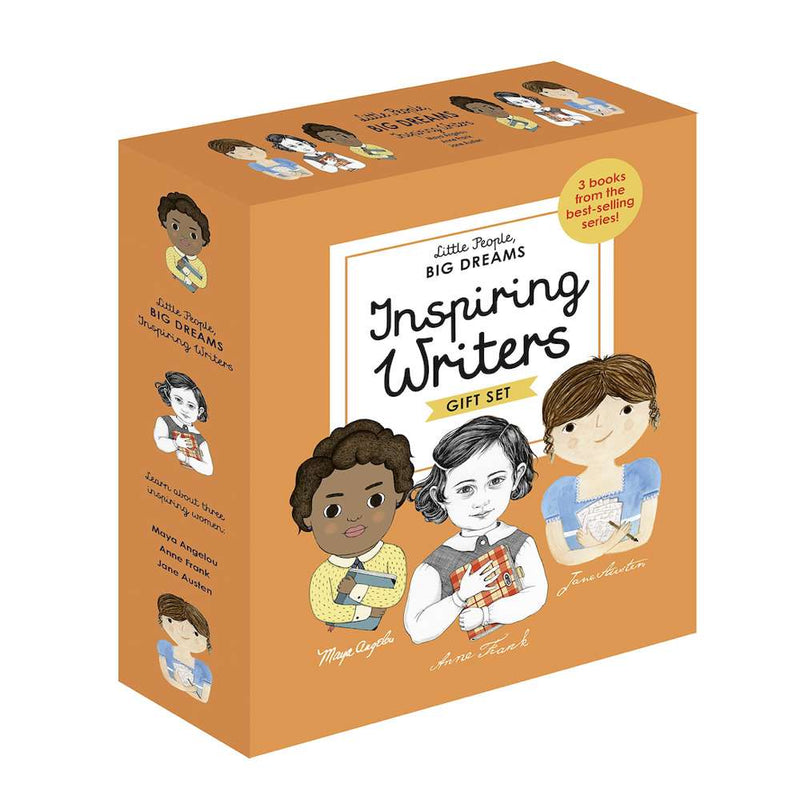 Little People, Big Dreams Box set: Inspiring Writers