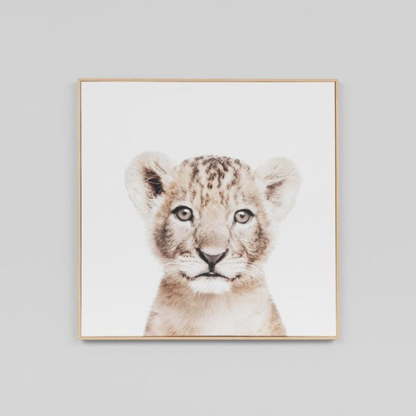 Tiger Cub Canvas