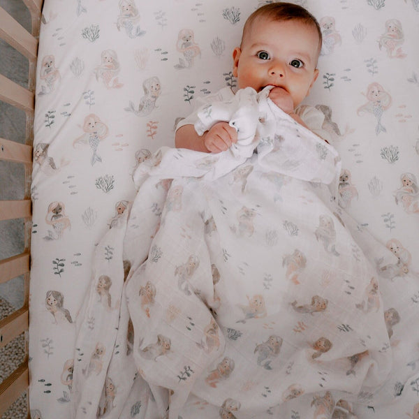 Mermaid Muslin Wrap