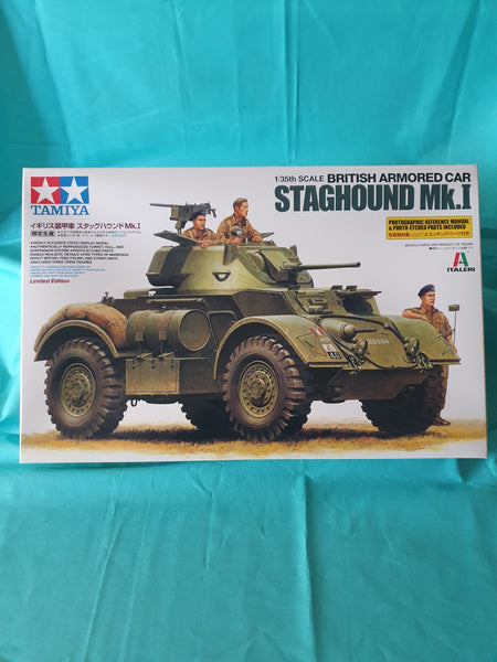 TAMIYA 1:35 STAGHOUND MK.I