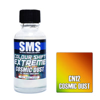 Colour Shift Extreme Cosmic Dust
