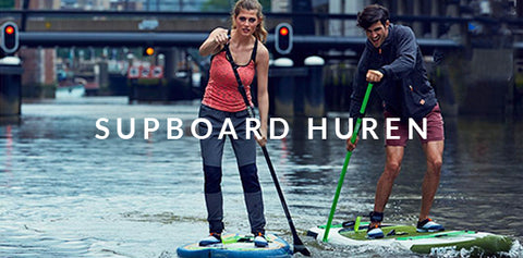 Stand up paddleboard huren