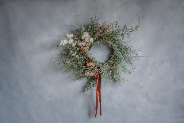 Dried and Delicate Wreath