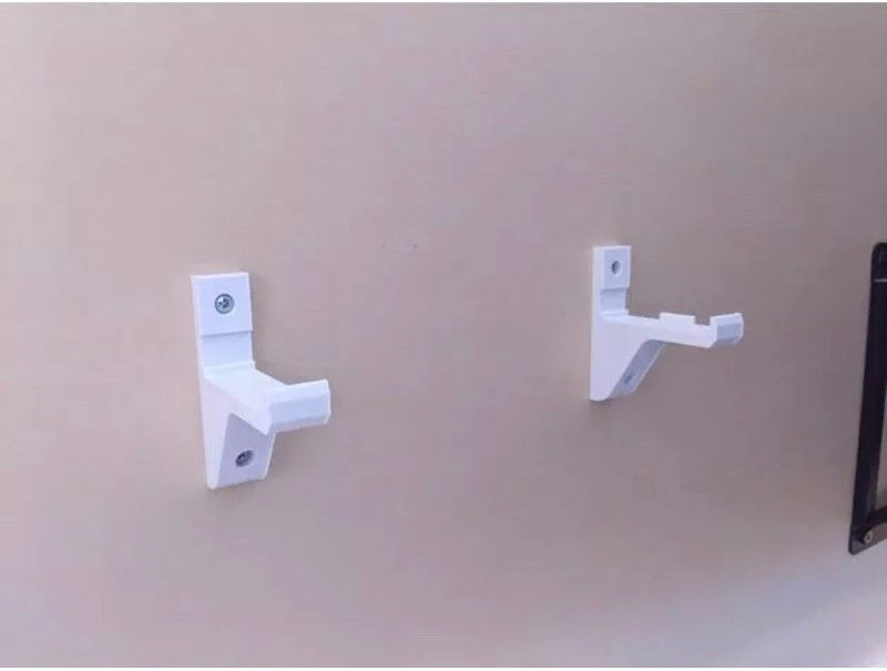 Wall mount brackets for XBOX ONE S And ONE X Models Lifetime Warranty Included Fast Shipping