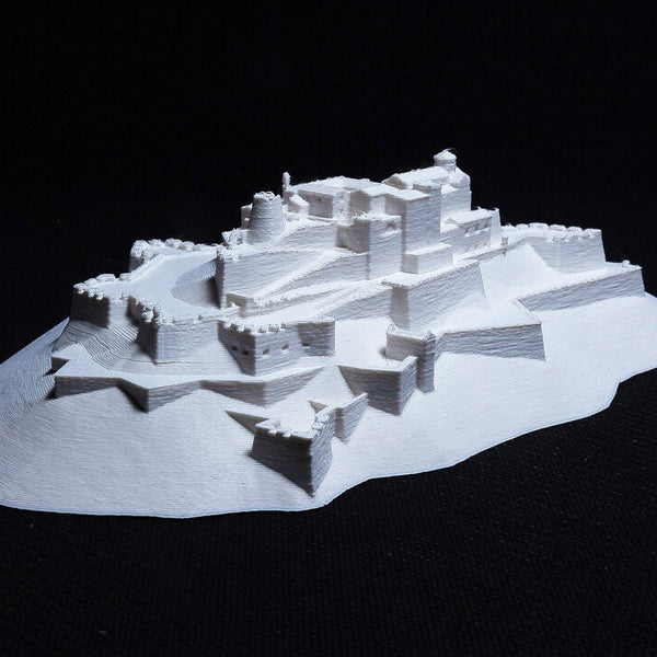 Castle of Cardona - Spain Scaled 100% Accurate Model