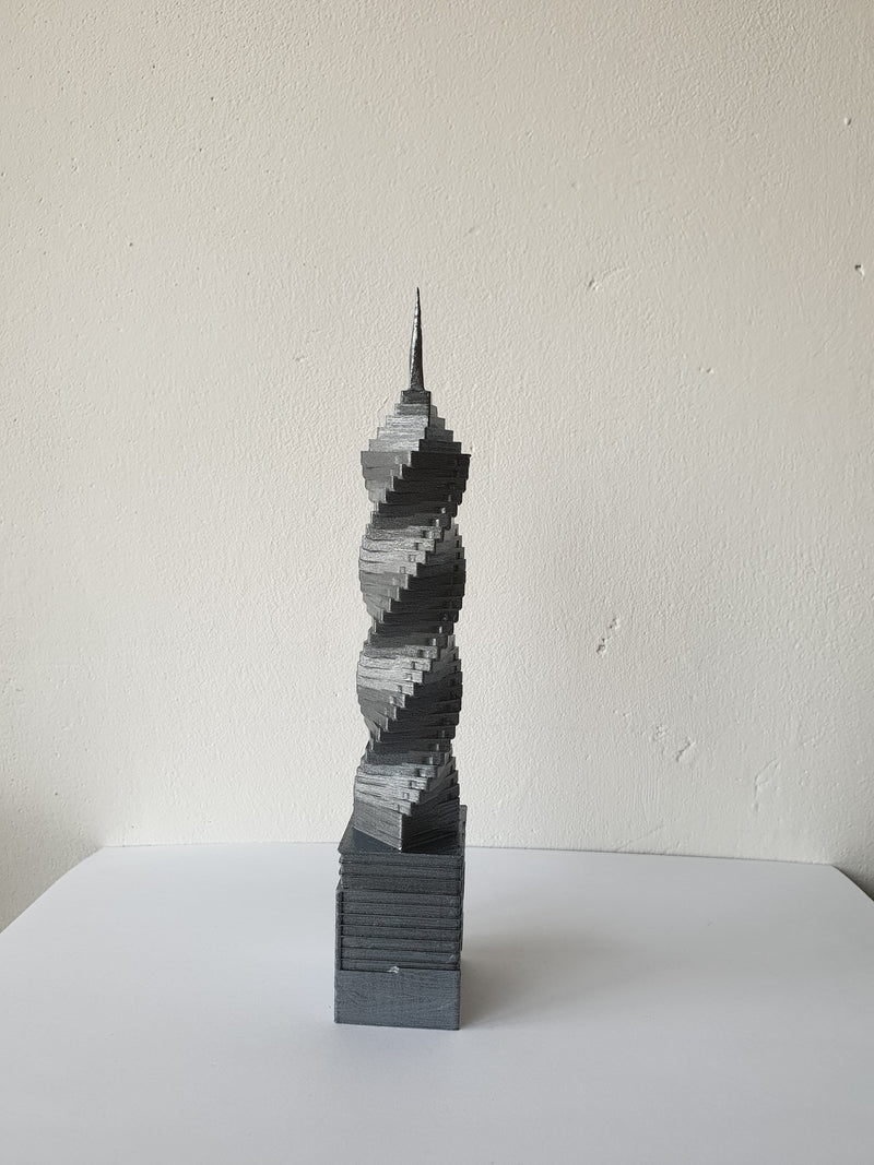 F&F Tower - Panama Scaled 100% Accurate Model Miniature Tabletop Diorama Architecture