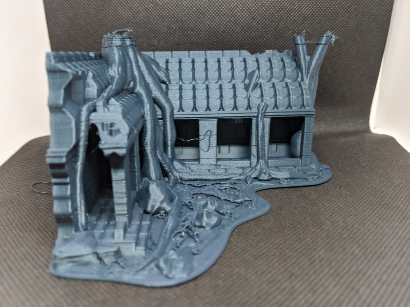 Temple Ruins - Cambodia Scaled 100% Accurate Model Miniature Tabletop Diorama Architecture DnD Warhammer Architecture