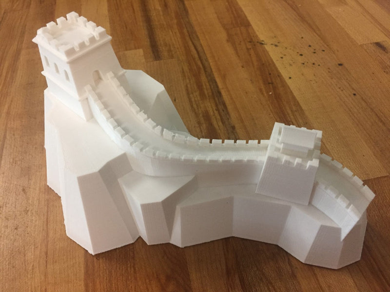 Great Wall Of China Scaled Model 100% Accuracy Multiple Sizes Available