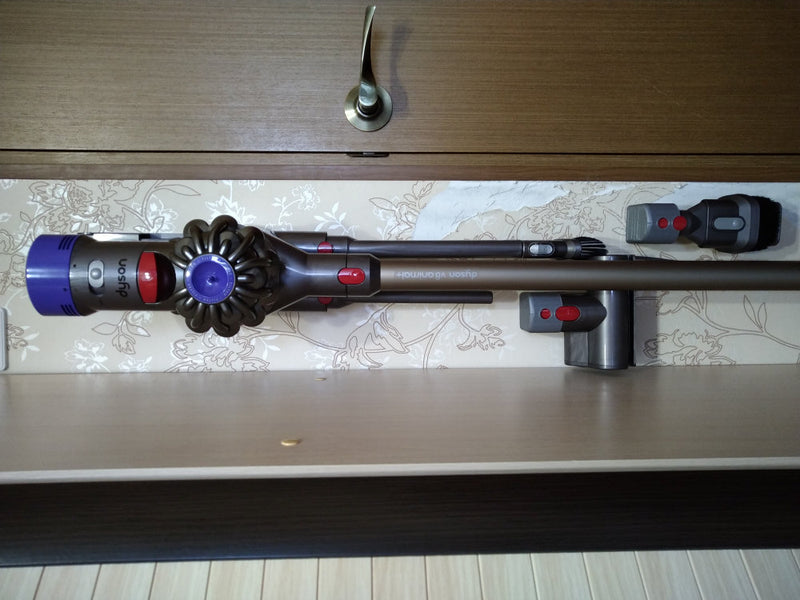 Dyson V8 Wall Mount for Attachments Life Hack Storage