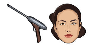 ELG 3A Padmé Amidalas Blaster Prop For Cosplay From The Star Wars Prequels