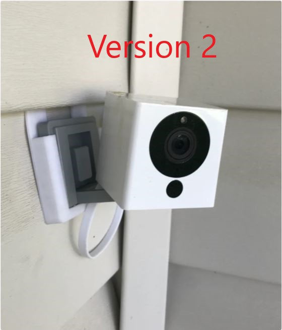 Wyzecam Siding Clip Camera Wall Mount 2 Versions