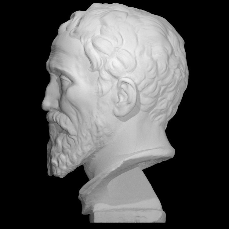 Detailed Bust Of Michelangelo