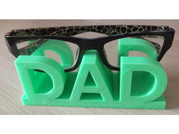 Fathers Day DAD Glasses Holder Perfect Gift For Dad!
