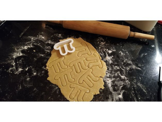 PI Cookie Cutter | Math | 3.14 | Pastry Cutter | Baking | Cookies | Pi Symbol