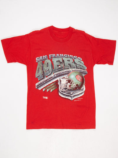 San Francisco 49ers Printed T-Shirt Red Size XL