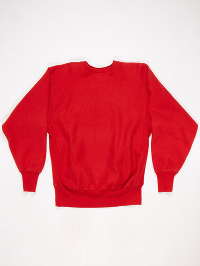 Champion Reverse Weave Sweatshirt Red Size Large