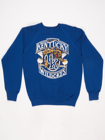 Kentucky Wildcats Printed Sweatshirt Blue / Multi Size Medium