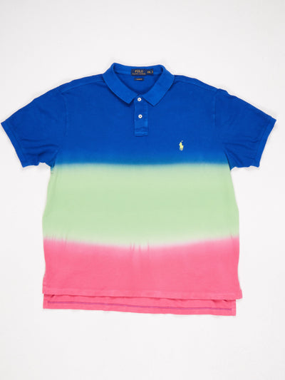 Ralph Lauren Polo Shirt Blue / Green / Pink Size XXL