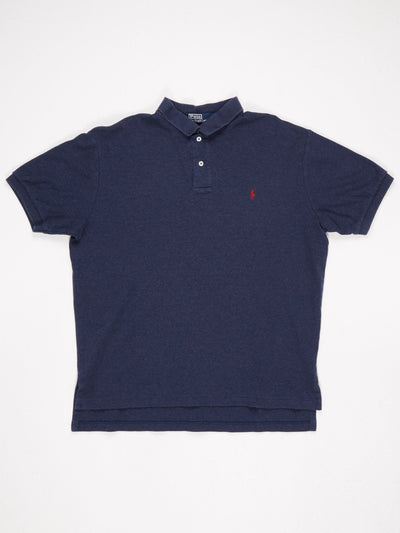 Ralph Lauren Polo Shirt Blue / Red Size Large