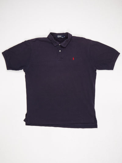 Ralph Lauren Polo Shirt Blue / Red Size XL