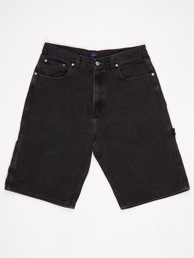 Tommy Hilfiger Tommy Jeans Denim Shorts Black Size Large