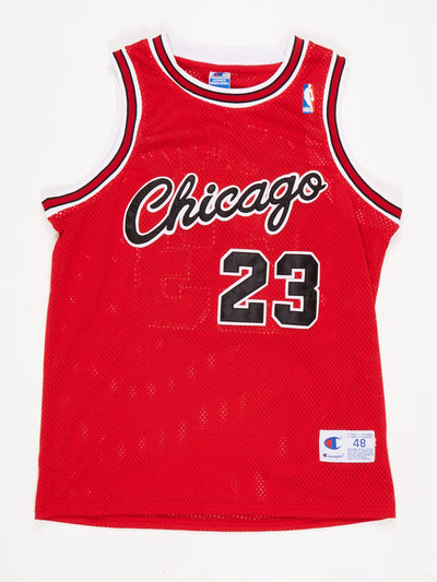 Chicago Bulls Basketball Jersey 'JORDAN 23' Red / Black / White Size Medium