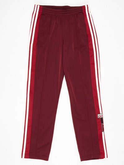 Adidas Cuffed Cotton Joggers Grey / Red / Purple / White Size XXL