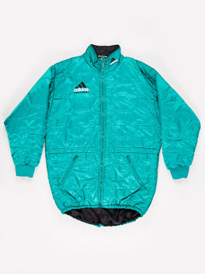 Adidas Equipment Longline Padded Jacket Green Size XL