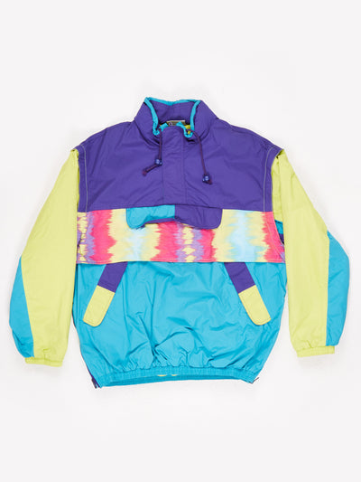 Adidas Colourful Pullover with Multiple Front Pockets Multi Size Large