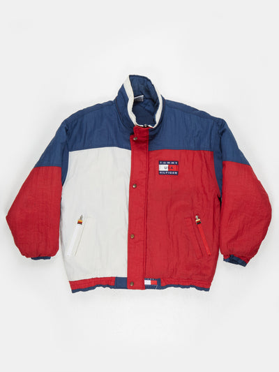 Tommy Hilfiger USA Padded Jacket Red / Blue / White Size XL