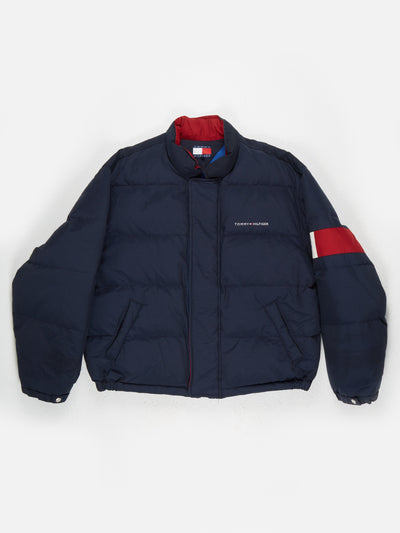 Tommy Hilfiger padded Jacket Navy / Red / White Size XL
