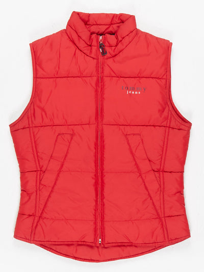 Tommy Jeans Gilet Red Size Small