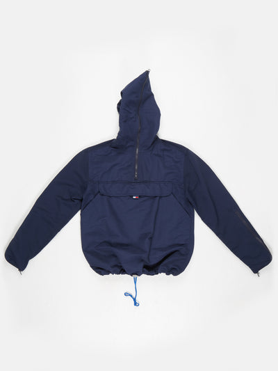 Tommy Jeans 1/2 Zip overhead jacket Navy Size Small