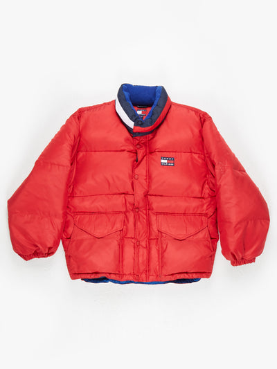 Tommy Hilfiger down padded Jacket Red Size XL