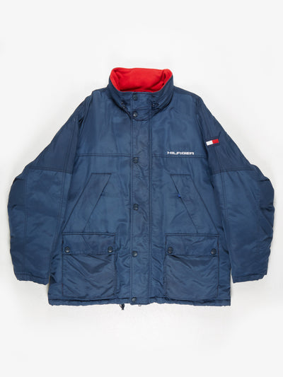 Tommy Hilfiger down padded Jacket Navy Size XL