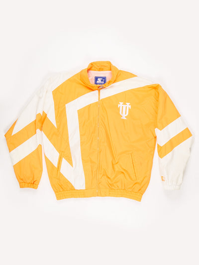 Starter Tennessee University Shell training Jacket Orange / White Size XL