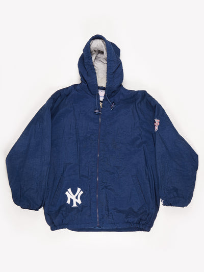 Starter New York Yankees MLB Padded Jacket Navy Size XL