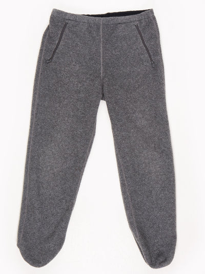 Patagonia Fleece Trousers Grey Size Large