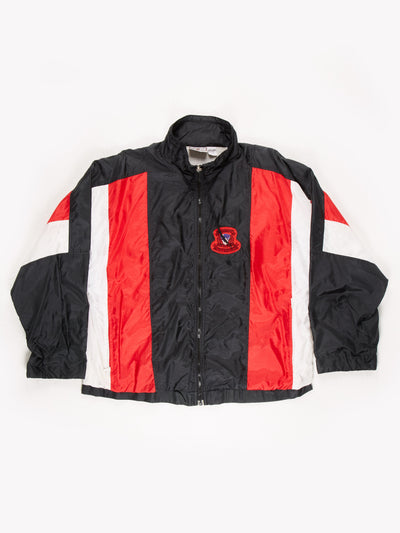 Givenchy Active Sports Shell Jacket Black / Red Size Large