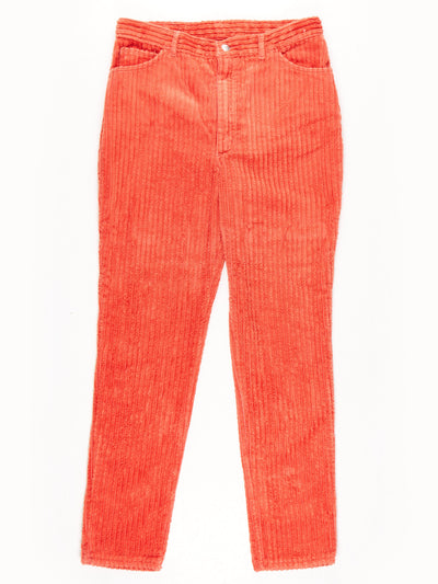 Wrangler Soft Jumbo Cord Trousers Red Size W33