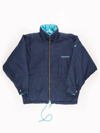 Adidas Winter Coat / Blue / Size 46