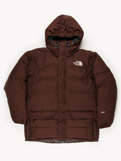 North Face 600 Puffer Jacket Brown Size XL
