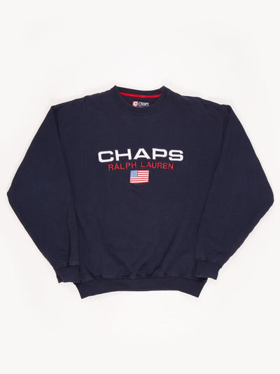 Chaps Ralph Lauren / Navy / White / Red / Size Large
