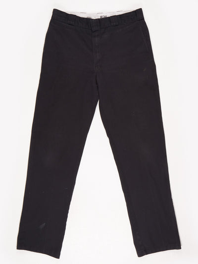 Dickies 874 Original Fit Workwear Trousers / Black / Size 36