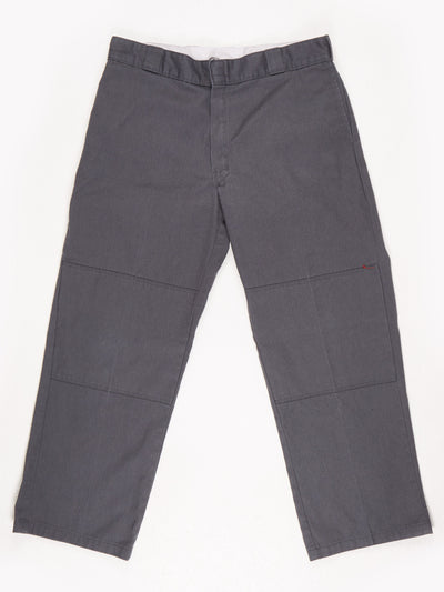 Dickies Loose Fit Workwear Trousers / Grey / Size w36 l30
