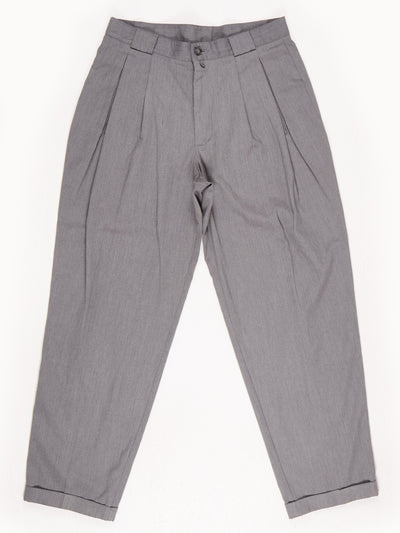 High Waist Trousers / Grey