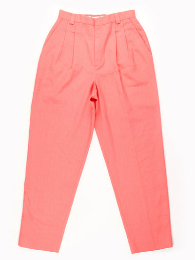 High Waist Trousers / Pink 25x28